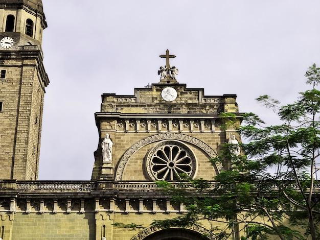 フィリピンのマニラ市の大聖堂