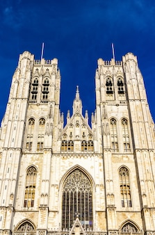 Собор святого михаила и святой гудулы в брюсселе