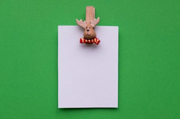 子供は冬休みの年賀状を作りますdiy工芸品とクリスマスの工芸品は自分でやるコンセプト