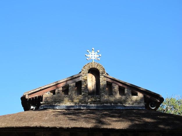 Церковь в городе гондор, эфиопия
