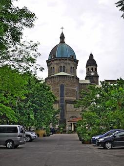 フィリピンのマニラ市の教会