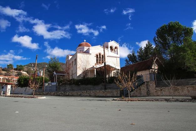 Церковь в горах, кипр