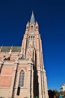 アルゼンチン、ブエノスアイレス、ティグレデルタ地区の教会