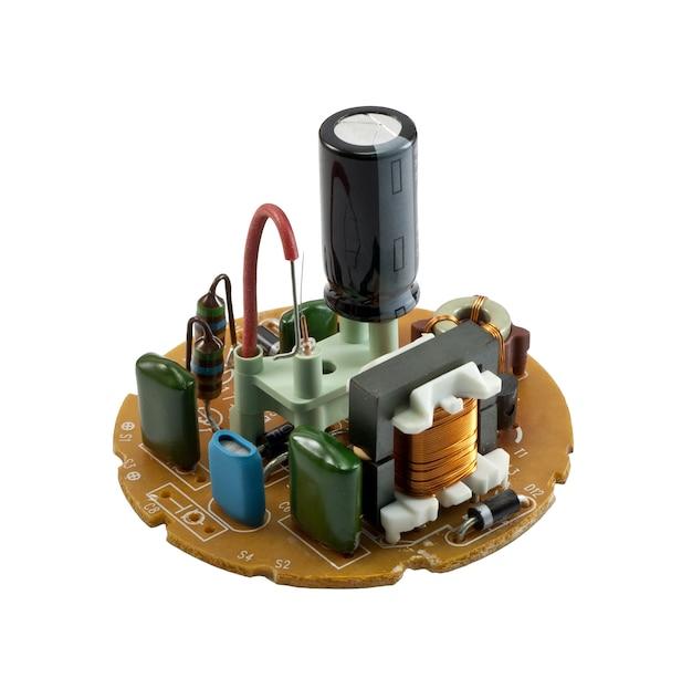 分離されたコンパクト蛍光灯の回路
