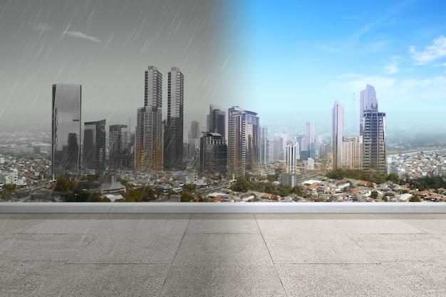 気候の違う街。環境を変えるという概念