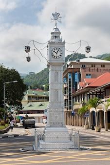 세이셸의 리틀 빅 벤으로도 알려진 빅토리아의 시계탑
