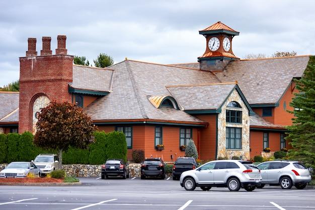 미국 tewksbury의 클럽 하우스