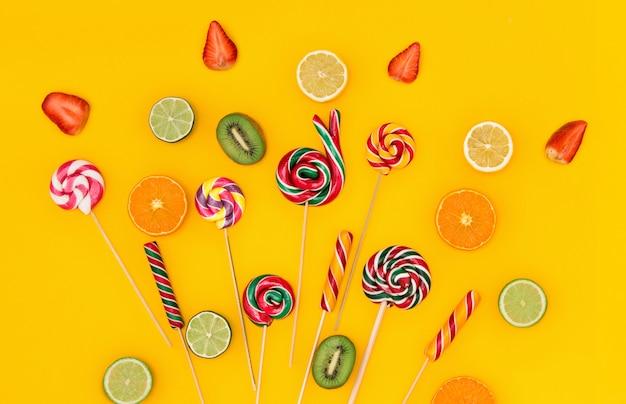 Разноцветные конфеты