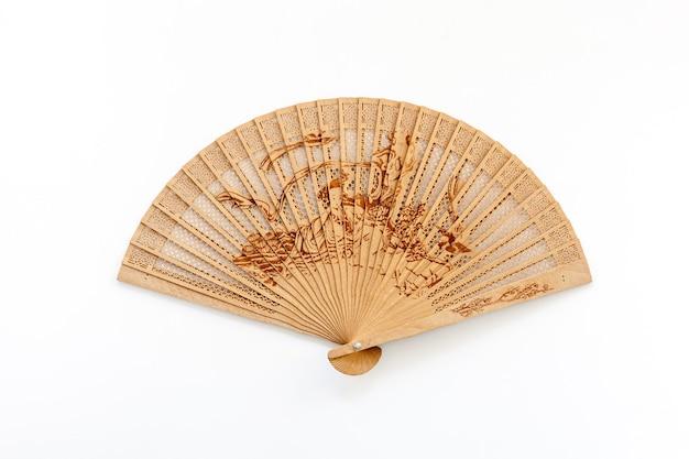 白のコンセプト竹ファン