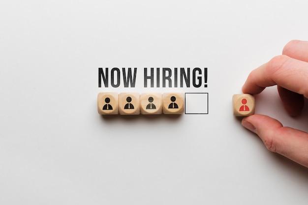 Концепция поиска новых сотрудников для команды.