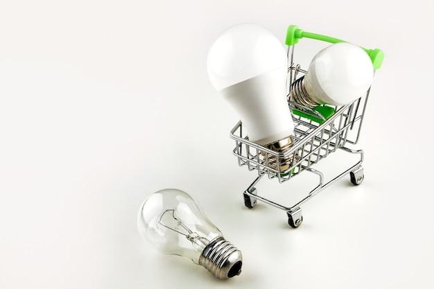 現代の経済的な照明のコンセプト。
