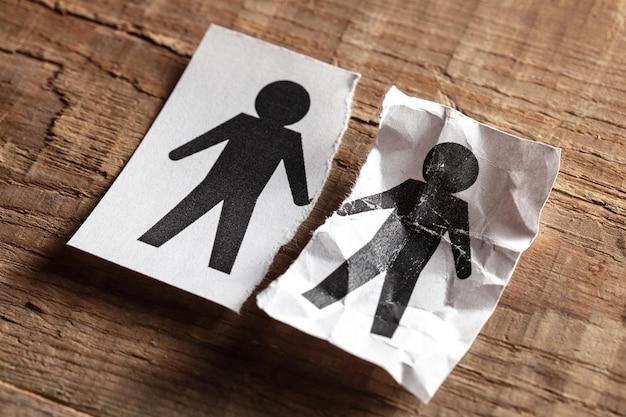 ゲイでの夫の死老後または病気からのカップルの死の概念