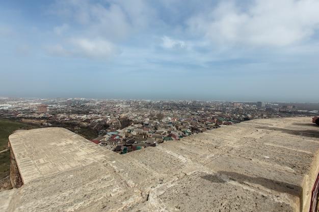 더벤트 요새. 고대 도시 더벤트. 코카서스의 역사적 명소. 다게스탄 공화국
