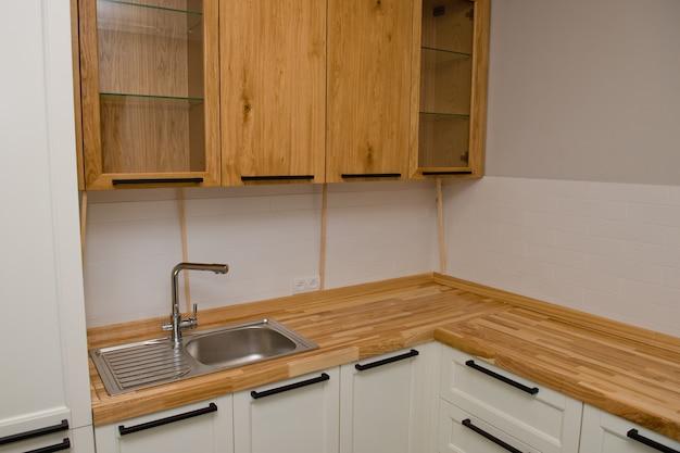 キッチンルームのデザイン。