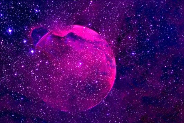 太陽系外惑星の破壊この画像の要素はnasaによって提供されました