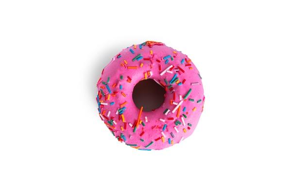 ドーナツは白い背景で隔離されます。ドーナツが分離されました。高品質の写真