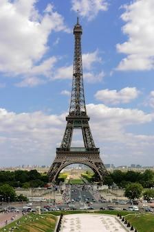 フランス、パリのエッフェル塔
