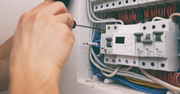 家に電気配線を設置する電気設備
