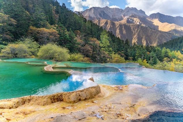 Знаменитый геологический парк в китае