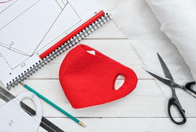Готовая противовирусная маска изготавливается в домашних условиях во время изоляции и вспышек вируса.