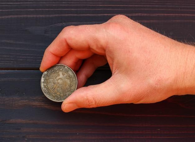 손 사본에서 최초의 미국 달러 1794