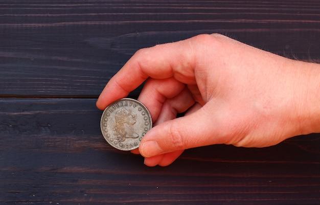1794 년 최초의 미국 달러 사본