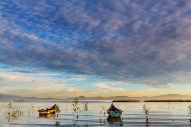 Рыболовные лодки в мексике