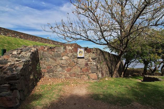 우루과이 콜로니아 델 사크라멘토 요새