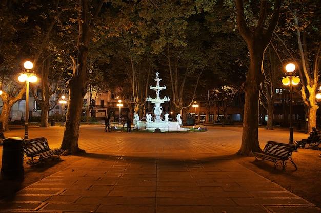 Фонтан в монтевидео, уругвай
