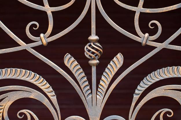 鍛造金属製品の断片