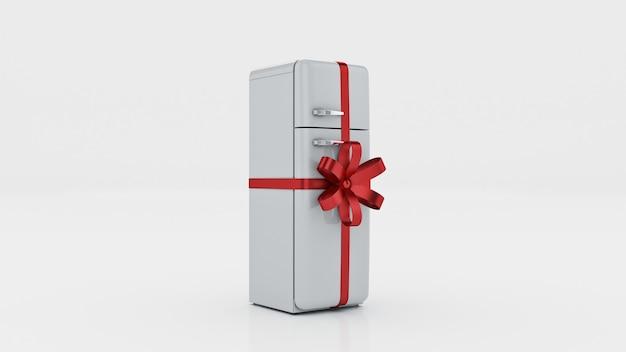 冷蔵庫のコンセプトは3dレンダリングを割引します