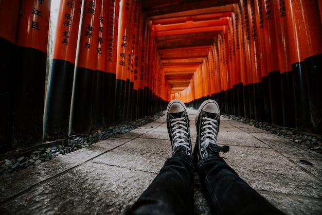 Путь фусими-инари в киото