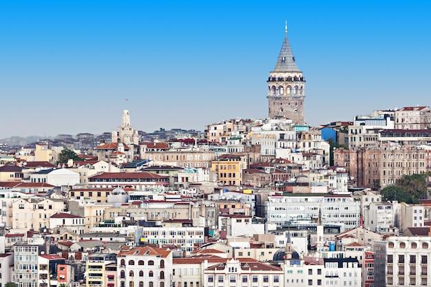 갈라타 타워는 터키 이스탄불에 있는 중세 석탑입니다.