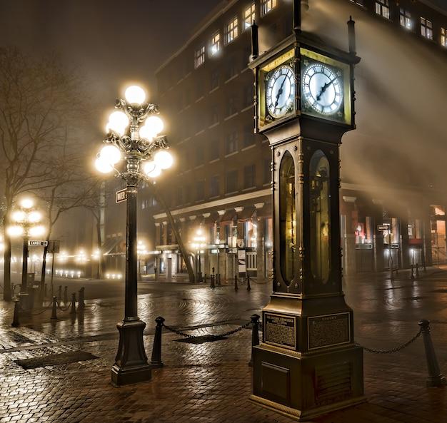 밴쿠버의 개스 타운 증기 시계