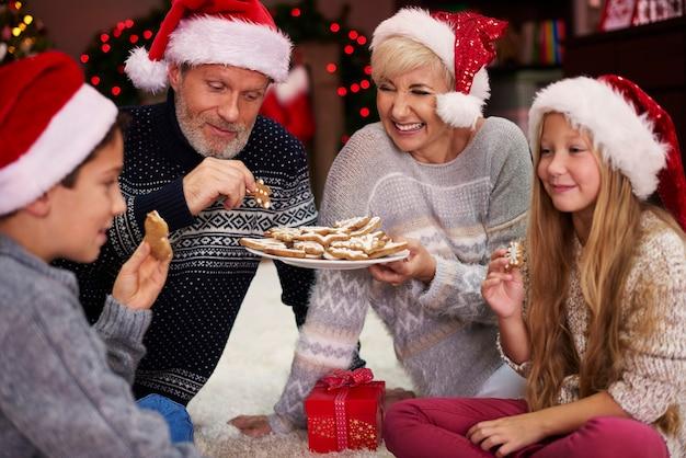 ジンジャーブレッドはクリスマスの時期に最高の味がします