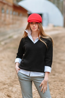Девушка в красной шапочке