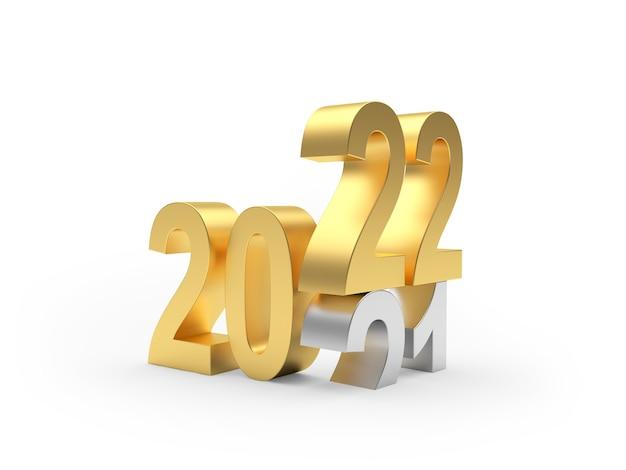 Золотые и серебряные цифры на новый год меняются