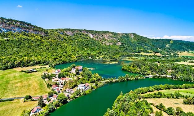 Ущелье реки айн во франции