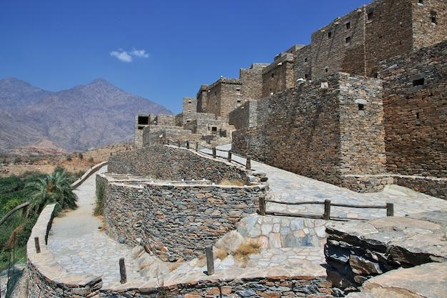 歴史的な村アルアインサウジアラビア
