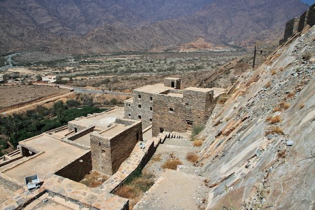 サウジアラビアの歴史的な村アルアイン
