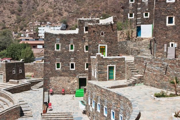 歴史的な村リジャルアルマサウジアラビア
