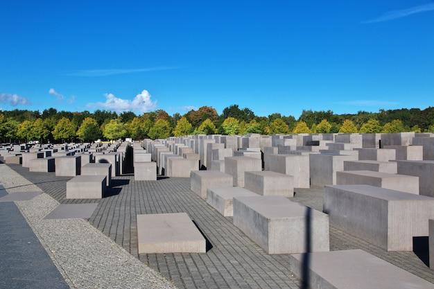 Мемориал холокоста - мемориал убитым евреям европы в берлине, германия