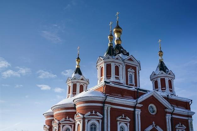 러시아 모스크바 콜롬나 지역에 있는 성십자가 정교회 대성당