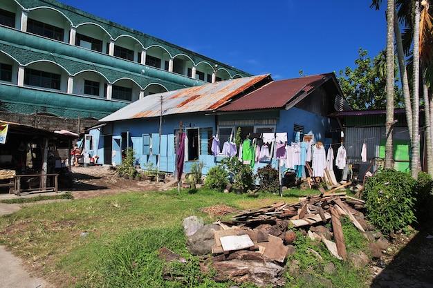 インドネシア、パダン市の家