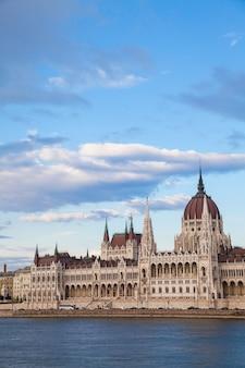 Здание венгерского парламента, известная достопримечательность венгрии и популярное туристическое направление будапешта.