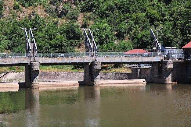 Гидростанция в горах родопы болгарии