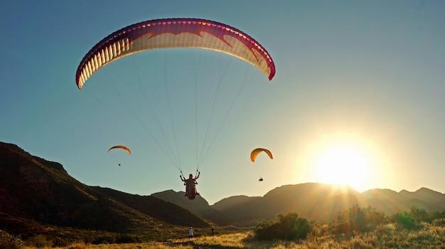 Невероятное ощущение полета на свободе, как птица