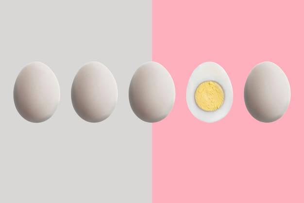 개성 개념, 평소와 다른 하나의 독특한 계란, 차이 아이디어