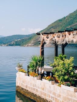 낚시 레스토랑 생선 카페 해산물 레스토랑의 인테리어
