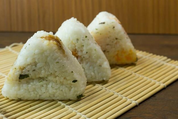 日本食のおにぎり